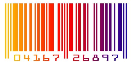 Barevný čárový kód - vložený v článku