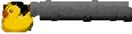 Malé logo Dobij-a-vyhraj.cz se žlutou kachničkou