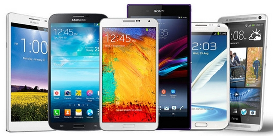 Mobilní telefony a smartphony jako ceny v soutěži