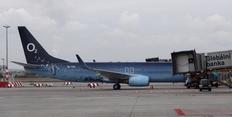 Firemní letadlo telefoniky o2 s logem
