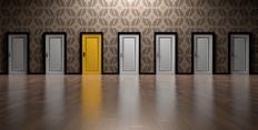 Výběr dveří za kterými se skrývá nejlepší odměna za dobití